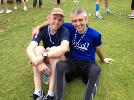 Edinburgh Marathon PR U-turn,