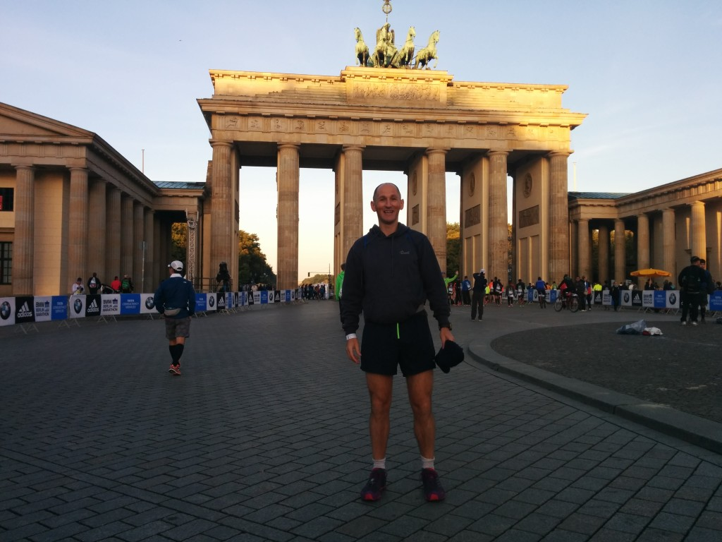 Jason Steele Berlin Marathon 2014.