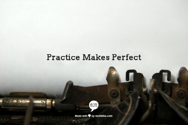 When it comes to SEO, practice makes perfect