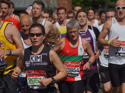 What business lessons can be learnt from running a marathon in 2015.