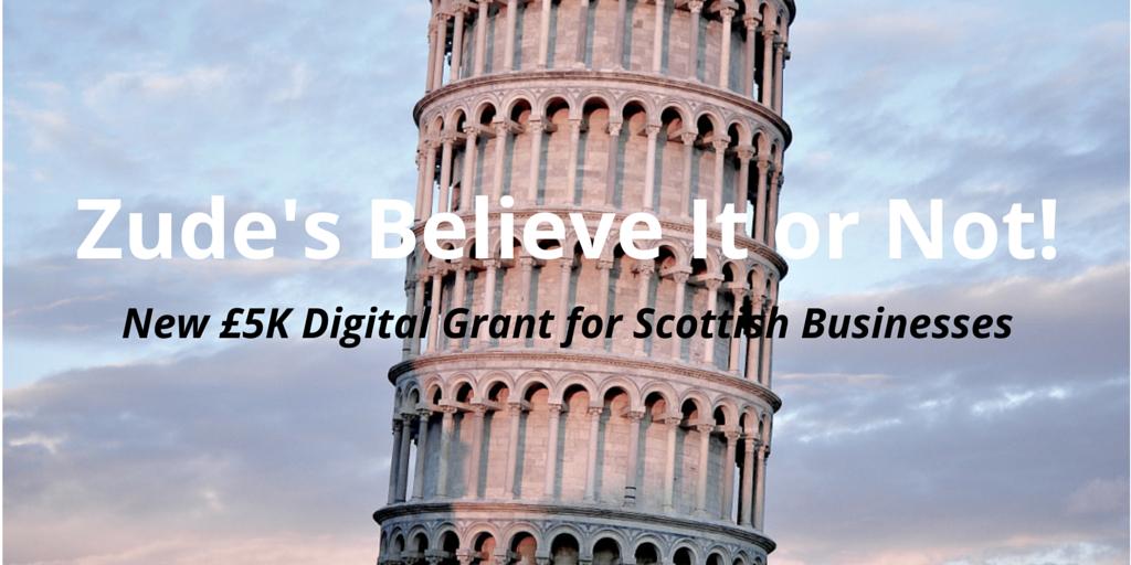 New £5k Digital Grant for Scottish Companies