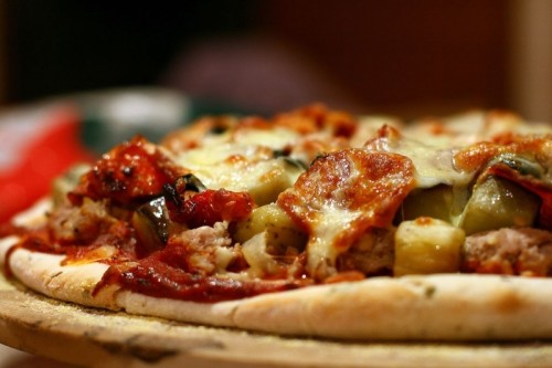 Pizza is like running according to Glasgow runner Bruce Carmichael.