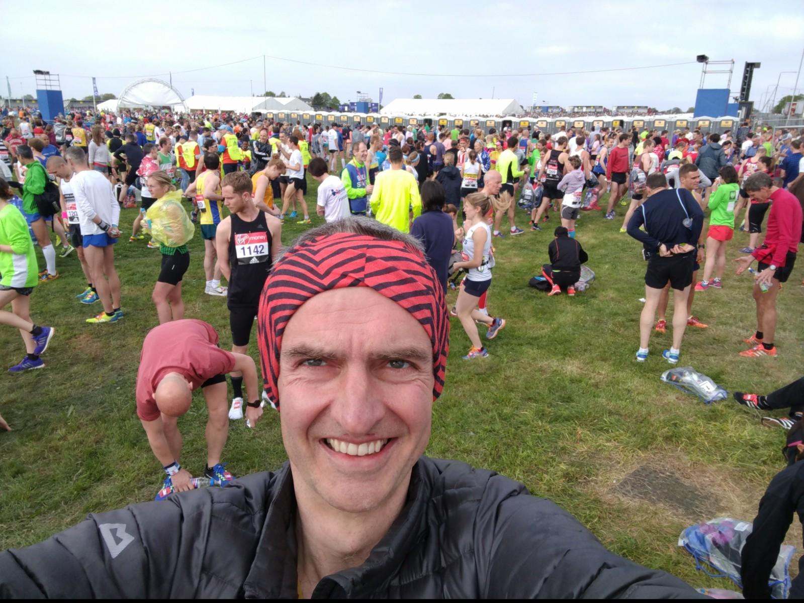 champs start london 2017 marathon david sawyer